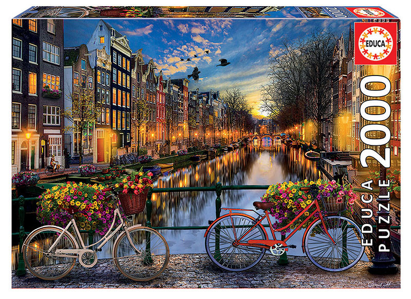 2000片 黃昏的阿姆斯特丹