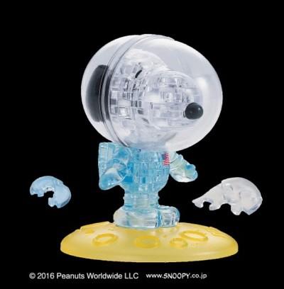 35片 水晶拼圖-史努比太空人